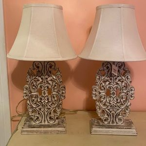 Restoration Hardware baby and child lamps (set of 2)